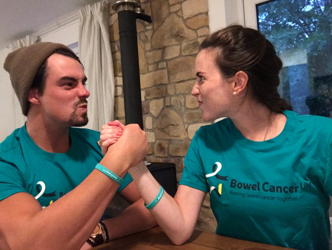 Olivia Rowlands Never Too Young Bowel Cancer Uk