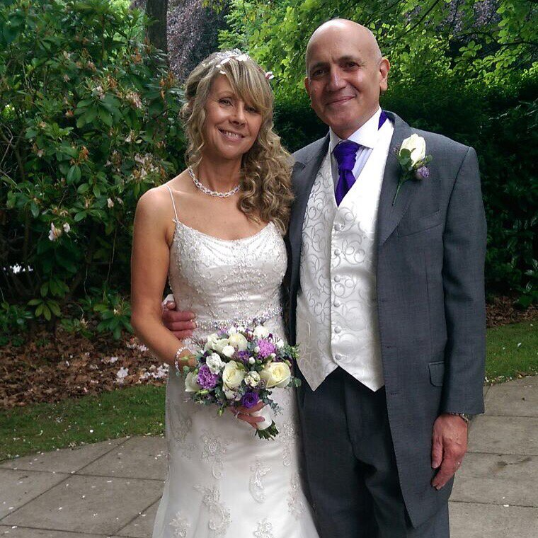 Antimo Barbieri on wedding day