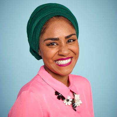 Chef and BBC TV star Nadiya Hussain