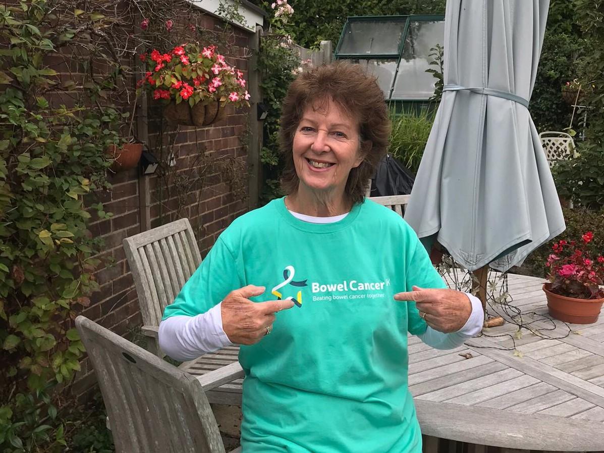 Frances Walk Together To Raise Awareness Of Bowel Cancer Bowel Cancer Uk